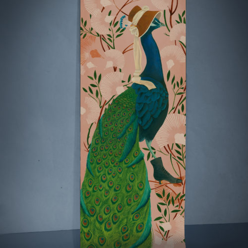 Panache - Large scale paper wall hanging
