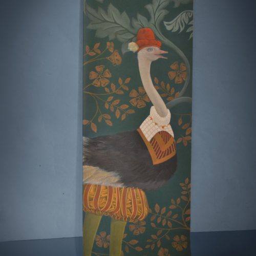 Le Noble Damoiseau - Large scale paper wall hanging
