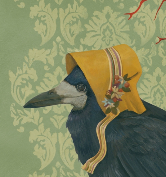 La Belle Agure Crow Wall Hanging Anna S Attic