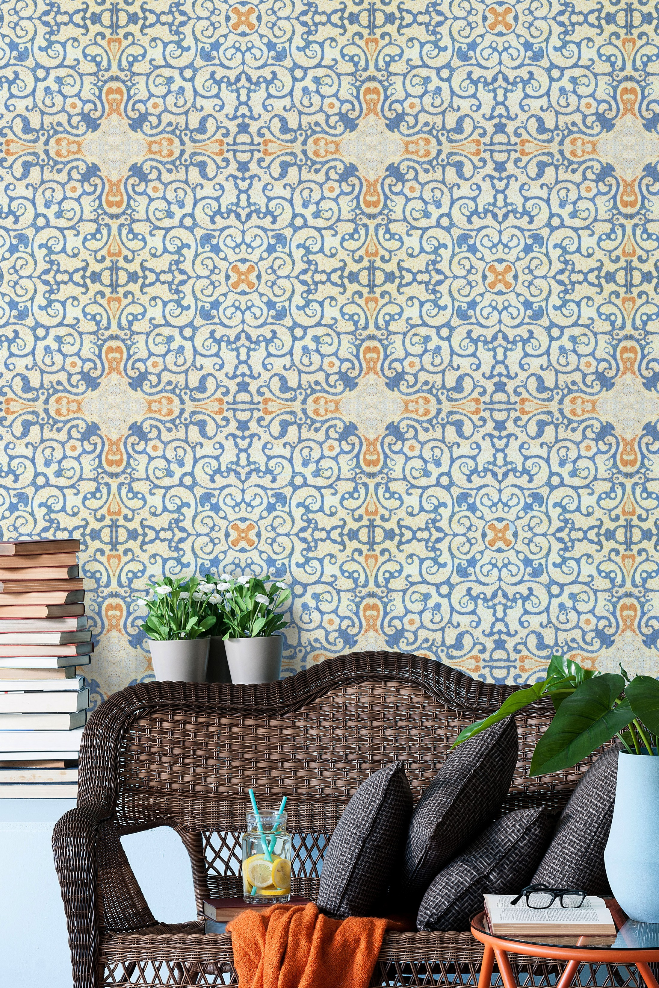 Mind The Gap Wallpaper Collection Spanish Tile Annas Attic