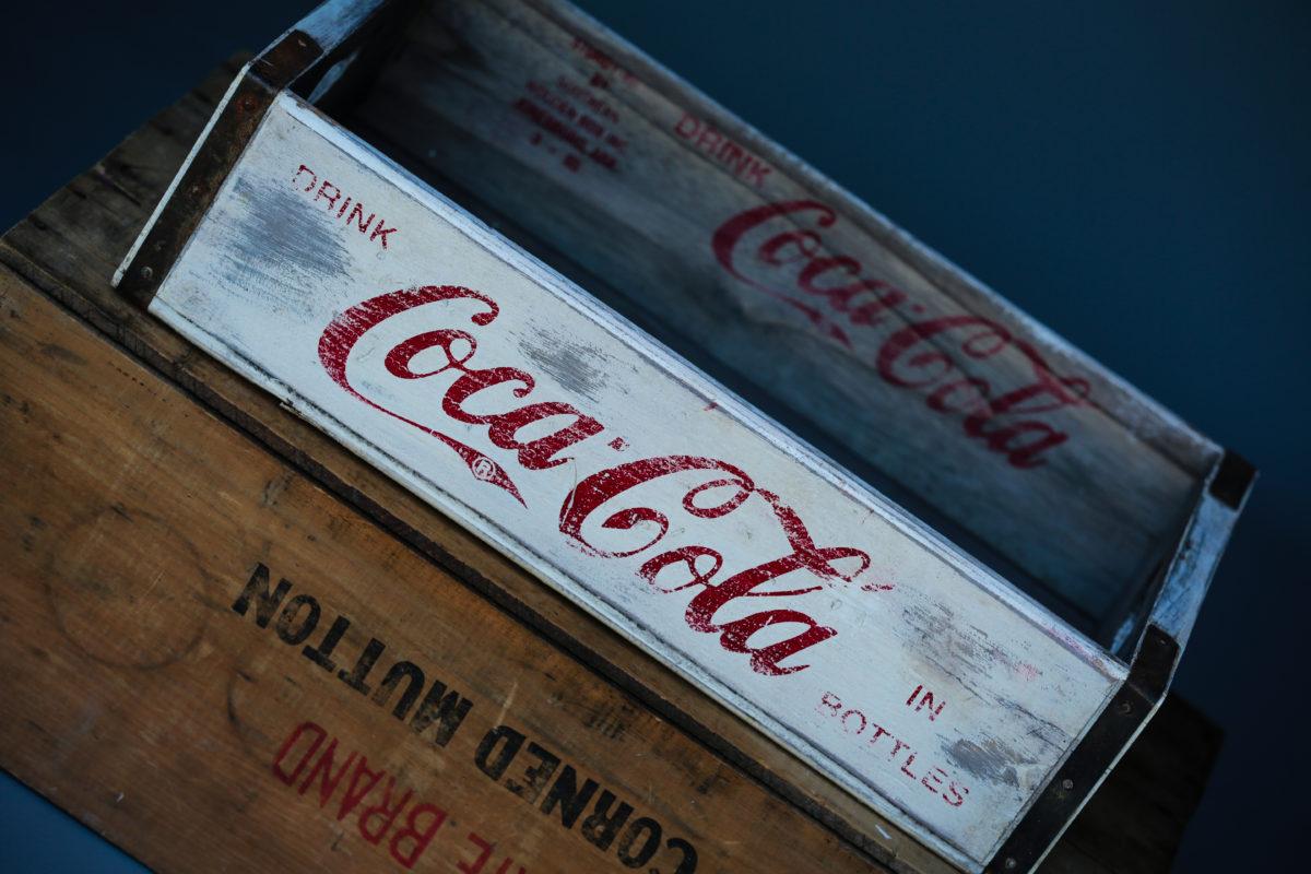 Wooden Soda Crates Anna S Attic