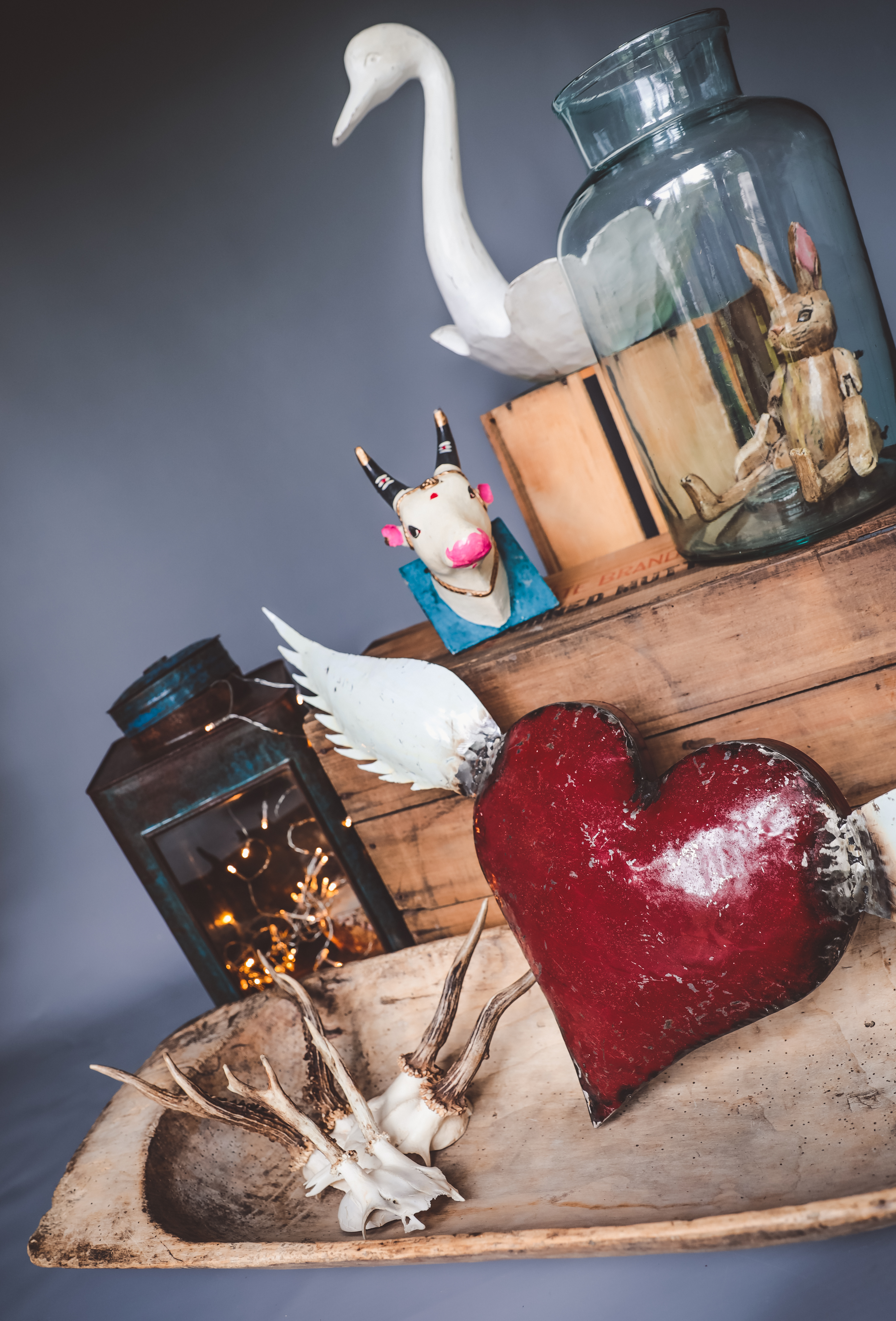 Recycled Oil Can Winged Heart Sold Out Anna S Attic